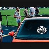 Etiquetas engomadas del coche Personaje de la película Mandalorian Baby On Board Baby Yoda Die Cut Vinyl Decal Window Auto Sticker size 20cm