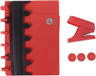 YO-HAPPY Perforateur, A6 A7 6 Trous Champignon T-Forme Papier Artisanat Trou poinçon Bricolage Scrapbooking perforateur po...