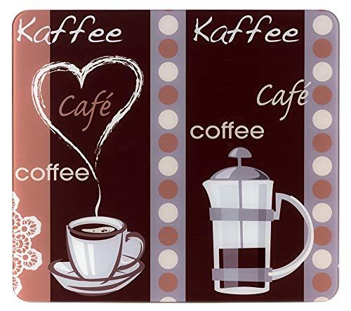 WENKO Multi-Platte Kaffeeduft Herdwand Wanddekor Wandschutz Herdwandschutz