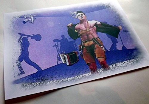Andreas Gabalier- ein echt genialer Kunstdruck -direkt vom Künstler 30cm x42cm