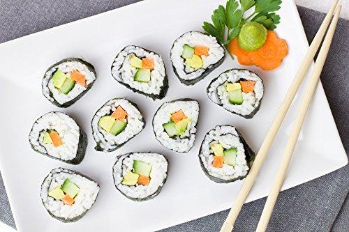 DAECHUN LAVER CO., LTD. Sushi Nori, Tostado resellable de mar (50 hojas completas) Grado de oro 125g