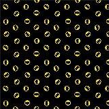 DC Comics Fabric 80th Anniversary Batman Logo in Black Premium Quality Cotton Fabric by The Yard