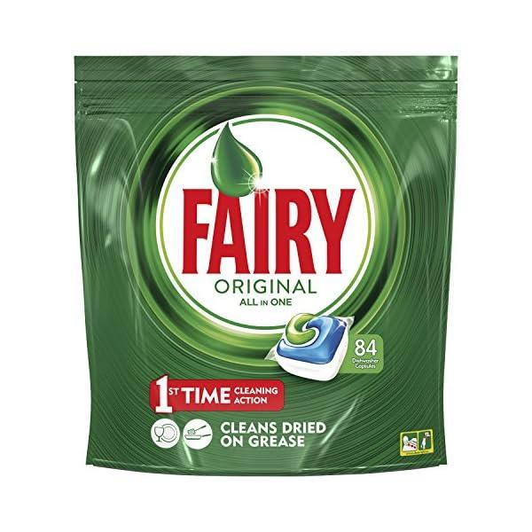 Fairy Original Cápsulas Todo en 1 para Lavavajillas – 84 cápsulas