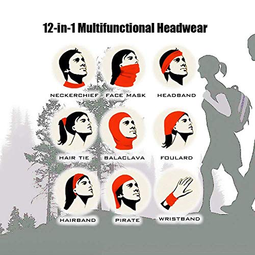 ZXYAIAN Paper Crane Outdoor Face Mouth Mask Windproof Sports Mask Ski Mask Shield Scarf Bandana Men Woman