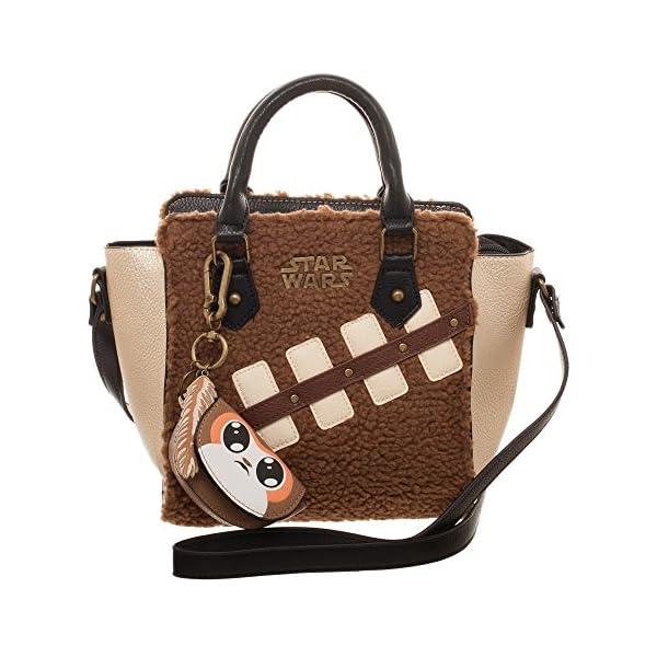 bioworld Women's Star Wars The Last Jedi Episode 8 Chewie Handbag