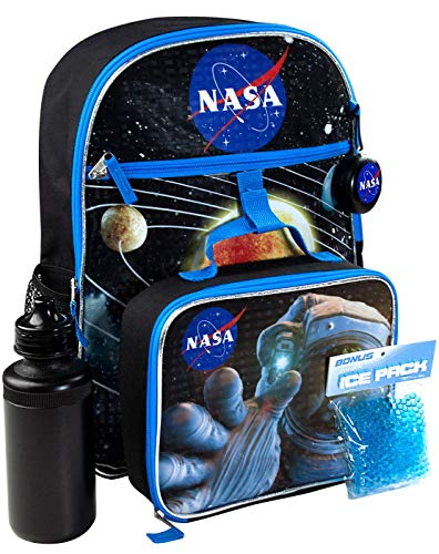 Nasa 5 Piece Backpack Set