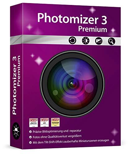 Photomizer 3 Premium - Bildbearbeitung / Optimierung für Fotos Windows 10, 8.1, 7 Vista und XP