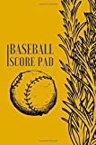 "Baseball Score Pad: Professional Baseball Scoring Sheet, Score Sheet Notebook for Outdoor Games, Gifts for Game Records, Game lovers, Friends and ... 6"" x 9"" with 110 Pages. (Baseball Scorebook)"