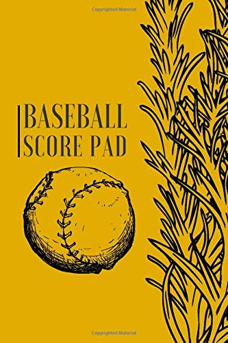 Baseball Score Pad: Professional Baseball Scoring Sheet, Score Sheet Notebook for Outdoor Games, Gifts for Game Records, Game lovers, Friends and ... with 110 Pages. (Baseball Scorebook, Band 13)