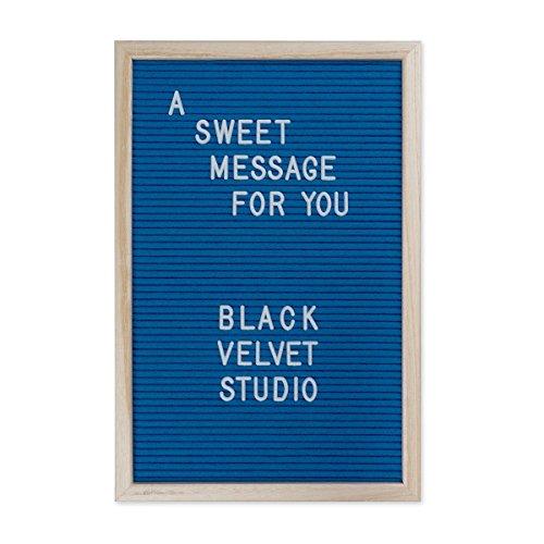 Black Velvet Studio Tablero Letras Word