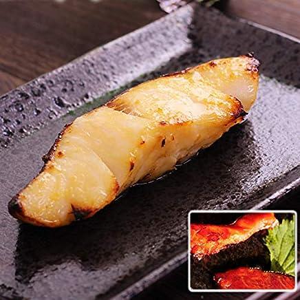 【セット】銀ムツ(メロ)西京漬【約80g×4枚】/鮭切り落とし赤味噌漬け(1kg)