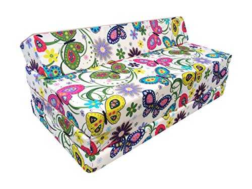Natalia Spzoo Colchón plegable cama de invitados forma de sillón sofá de...