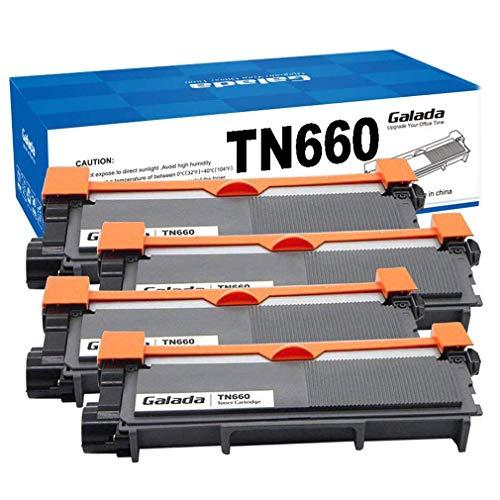 Galada - Cartucho de tóner Compatible para Impresora Brother Tn630 Tn660 Dcp-l2520dw Dcp-l2540dw Mfc-l2700dw Mfc-l2720dw Mfc-l2740dw Hl-l2300d Hl-l2340dw Hl-l2305dw Hl-l2320d Hl-l2360dw Hl-4l2380dw