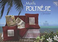 Motifs de Polynésie à broder par Nadège Richier