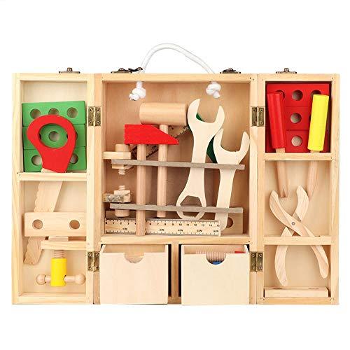 Juguete Caja de herramientas de reparación, Juego de caja