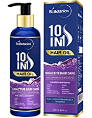 StBotanica 10 In 1 Hair Oil (Jojoba Almond Castor Olive Ros