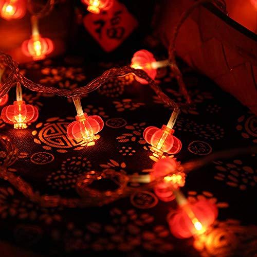 CFLFDC String licht LED rode kant lamp snoer Chinese knoop lamp snoer 30m 200 licht functieregelaar aan de zijkant