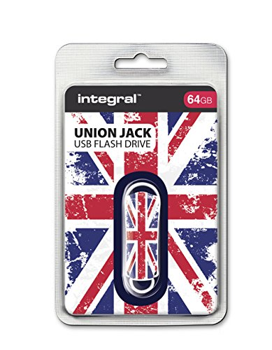 Integral Xpression USB-Speicherstick (64 GB, Union Jack)