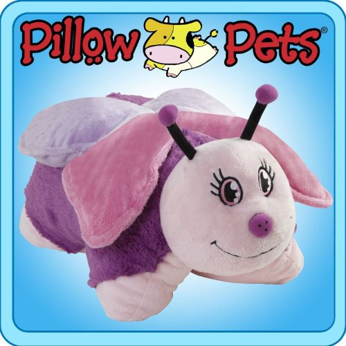Pillow Pets 11' Pee Wees - Small Pink Butterfly