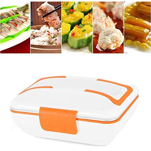 Hangang Caja de almuerzo de platos de frotamiento eléctrico de acero inoxidable,...