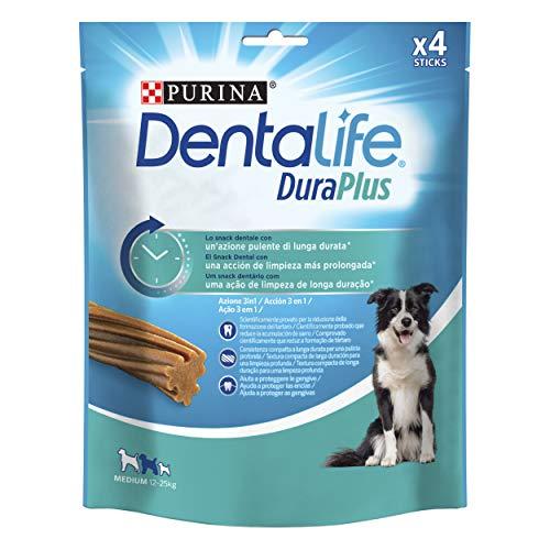 Purina Dentalife DuraPlus para Perros medianos 12-25kg 5 x 4 Sticks ⭐