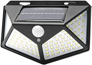 Solar Sensor Wall Light 100 LED Motion Lights Outdoor Safety Security Home Lamp