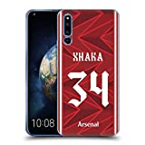 Official Arsenal FC Granit Xhaka 2020/21 Players Home Kit