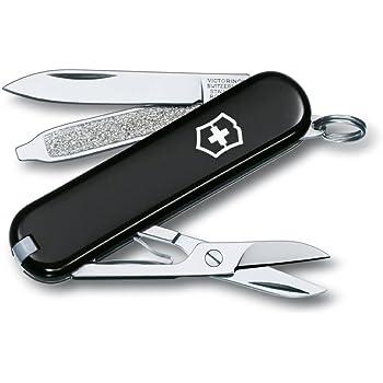 Victorinox Classic SD Taschenmesser, Klinge, Schere, Nagelfeile