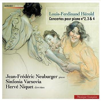 Hérold: Concertos pour piano n°2, 3 & 4