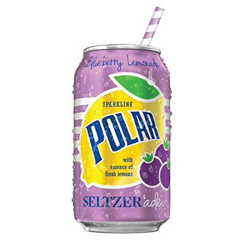 Polar Seltzerade Blueberry Lemonade 12 oz 35% New mail order OFF - of Packs 3 8 Cans