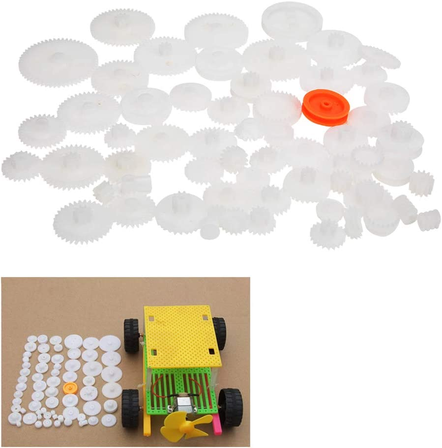 Super sale period limited Liyeehao Rest Plastic Gear Set Moto Max 73% OFF Gearbox DIY Robot for