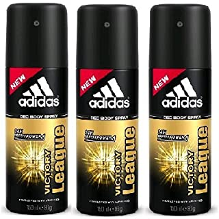 Adidas Victory League Deo Body spray (set of 3)