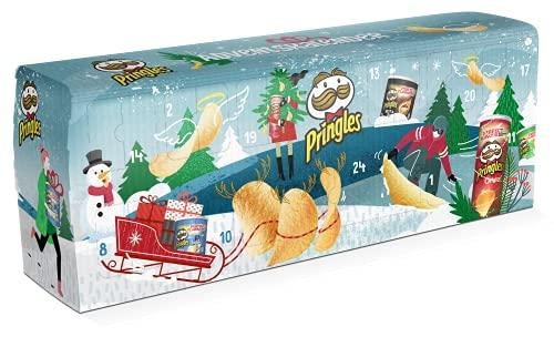 Handelshaus Huber-Koelle Pringles Chips-Adventskalender TÜRKIS, 1.12 kg