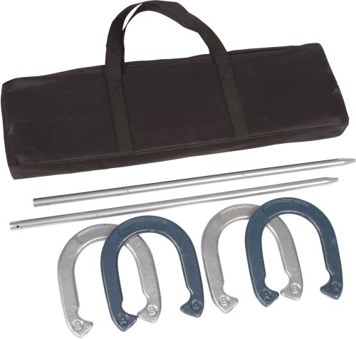 Tailgate 360 Powder Coated and Waterproof Steel Professional Horseshoe Set