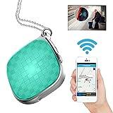 Hangang Mini micro GPS Tracker Locator GPS + lbs double Mode suivi en temps réel localisation périphérique pour enfants Animaux Chats Chiens véhicule avec SOS appel Outil de suivi