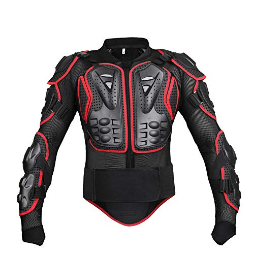 YXSSC Body Armor Motocross Rüstung Ritterrüstung Kleidung Outdoor-Bekleidung Rennanzüge,XXXL