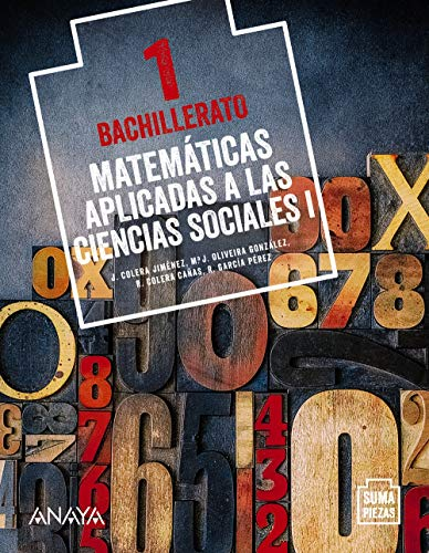 Matemáticas aplicadas a las Ciencias Sociales I. (Suma