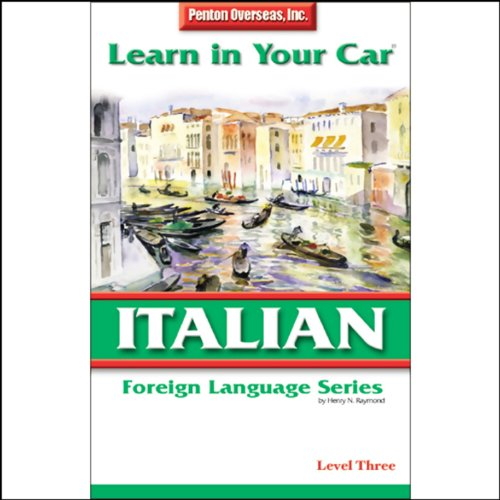 Learn in Your Car: Italian, Level 3 audiobook cover art