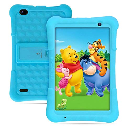 Dragon Touch Y80 8 inch Kids Tablets 2GB RAM 16GB ROM with Disney Story Contents, Android 8.1 Tablets, Kidoz Pre-Installed WiFi Android Tablet, Kid-Proof Case, Blue