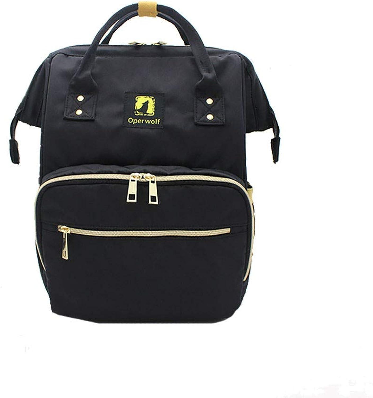CBCAfrauen - Tasche multifunktionale großer umhängetasche modischen modischen modischen wasserdicht Mutter - Kind - Rucksack,schwarz B07PS7XJF5 | Discount  0976e8