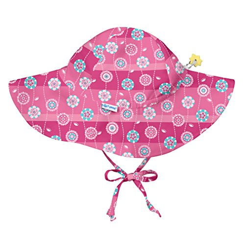 i play. by green sprouts Baby - Mädchen I Play Sonnenhut mit Krempe Sunhat - - 9/18 Monate