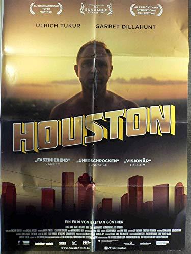 Houston - Ulrich Tukur - Garret Dillahunt - Filmposter A1 84x60cm gefaltet