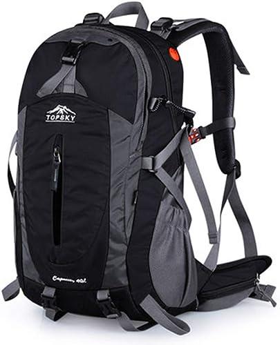 WSWJJXB Sac d'alpinisme de Voyage d'épaule pour Hommes et Femmes de Grande capacité randonnée imperméable à l'eau de Tourisme Professionnel en Plein air à Dos 40L
