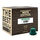 Noti D'*Espresso Càpsules de Cafè Intens exclusivament compatibles amb cafeteres Nespresso* - 100 Unitats de 5.6g, Total - 560 g