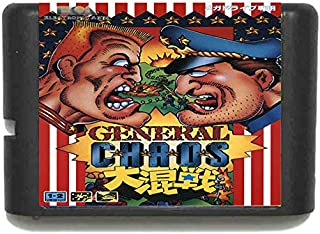 HTTHa Ltd General Chaos For 16 Bit Sega Md Game Card For Mega Drive For Genesis Us Pal Version Video Game Console Us Pal Shell