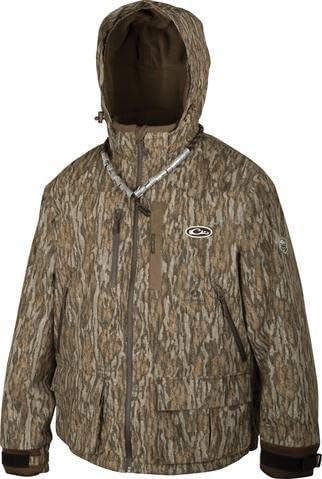 Guardian Elite Jacket - Fleece lined Bottomland Size Small