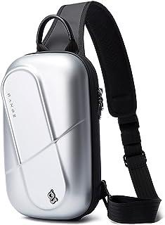 BANGE Waterproof EVA Unisex Travel Crossbody Sling Bag Chest Pack