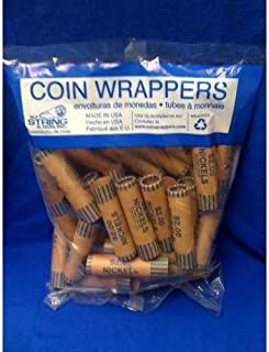 Coin Wrappers - 36 Count Nickels- single count