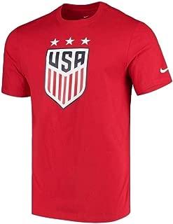 Mens USA Soccer Crest Tee