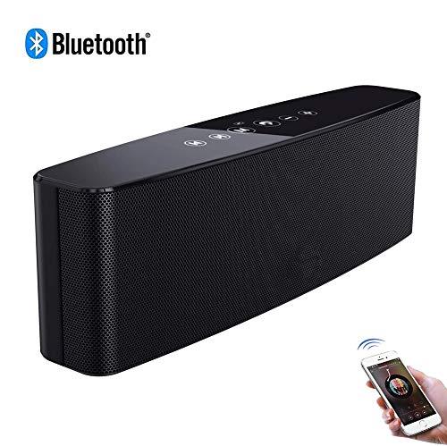 Speaker-EJOYDUTY draagbare draadloze stereo-sound Bluetooth soundbar, met 12 W beperkt uitgangsvermogen, rijke bas, ingebouwde microfoon, voor iPhone, Samsung en Mor